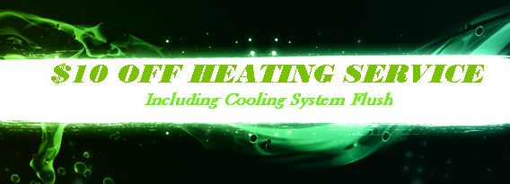 $10 Off Heating Service